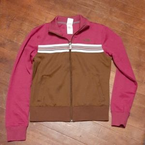 The North face womans zip up jacket size medium